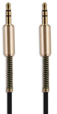 Belsis Кабель Jack 3.5 mm - Jack 3.5 mm, вилка - вилка, 1.0 м, черный, стерео (BS3012) цена и фото