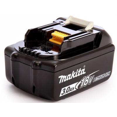 Makita Аккумулятор тип BL1830,18В,3Ач Li-ion,коробка,с индикатором [197599-5] инструмент многофункциональный engy mt a 10 8в li ion 1 3ач