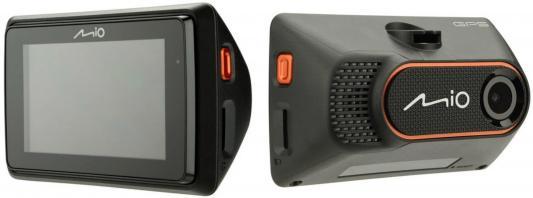 Видеорегистратор Mio MiVue 786 черный 2Mpix 1080x1920 1080p 130гр. GPS AIT8328 видеорегистратор neoline g tech x52 черный 1080x1920 1080p 130гр