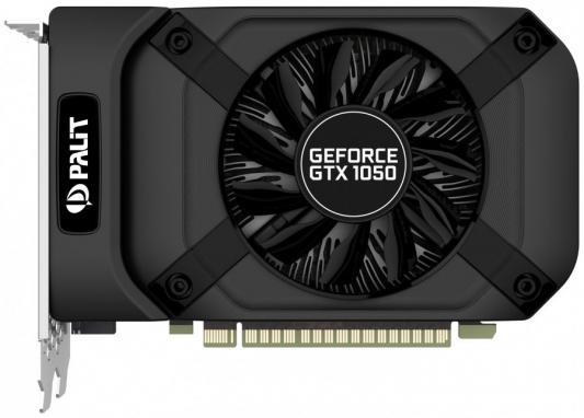 Видеокарта Palit GeForce GTX 1050 GeForceGTX 1050 StormX PCI-E 3072Mb 96 Bit Retail (NE51050018FE-1070F) видеокарта palit geforce gtx 1050 stormx 1354mhz pci e 3 0 2048mb 7000mhz 128 bit dvi hdmi hdcp ne5105001841 1070f