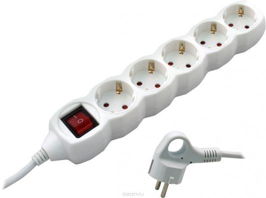 СТАРТ (4607175852821) Удлинитель 5 розеток. С/У S 5x3-ZDV. с заземлением и защитой от детей сечение провода 3х0,75мм2. Длина провода 3 м. бытовой удлинитель с выключателем volsten s 5x3 zdv 9331