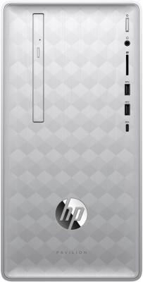 лучшая цена ПК HP Pavilion 590 590-p0005ur <4GK93EA> i3-8100/8GB/1TB+16GB Intel Optane/NV GT1030 2GB/DVD-RW/KBD+Mouse/Win 10/Natural Silver