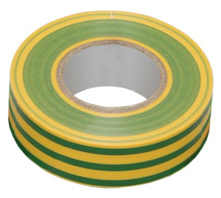 Iek UIZ-13-10-K52 Изолента 0,13х15 мм желто-зеленая 20 метров ИЭК