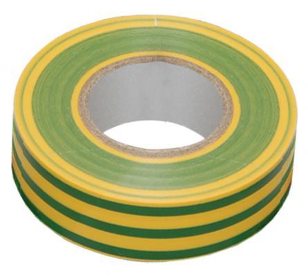 Iek UIZ-20-10-K52 Изолента 0,18х19 мм желто-зеленая 20 метров ИЭК