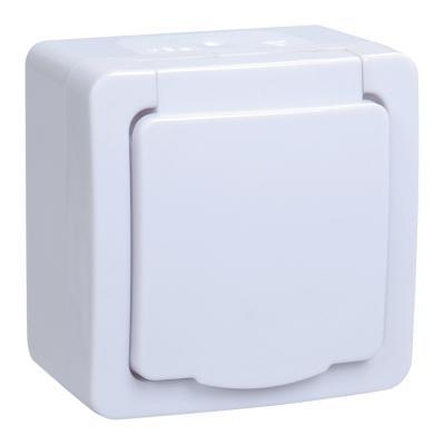 Iek ERMP12-K01-16-54-EC РСб20-3-ГПБб роз.1м с з/к о/у IP54 (цвет крышки:белый) ГЕРМЕС PLUS