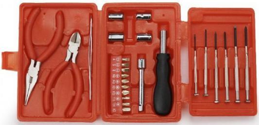Cablexpert TK-BASIC-04 Набор инструментов Cablexpert TK-BASIC-04 (25 пр.) отвертка cablexpert tk sd 03