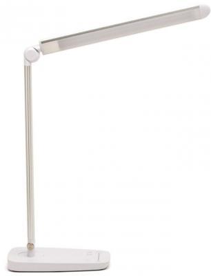 Светильник настольный Lucia Galant (L520-S) на подставке серебристый/белый 10Вт настольный led светильник lucia julia l521 белый 4606400511380