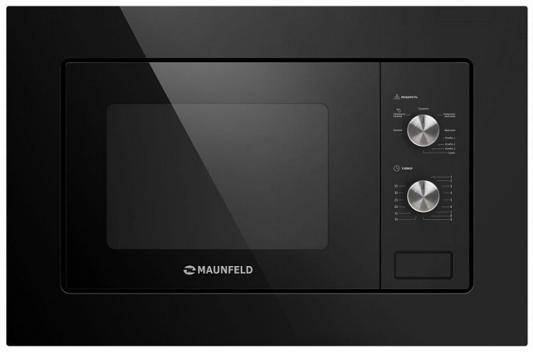 Встраиваемая микроволновая печь Maunfeld MBMO.20.2PGB 800 Вт чёрный