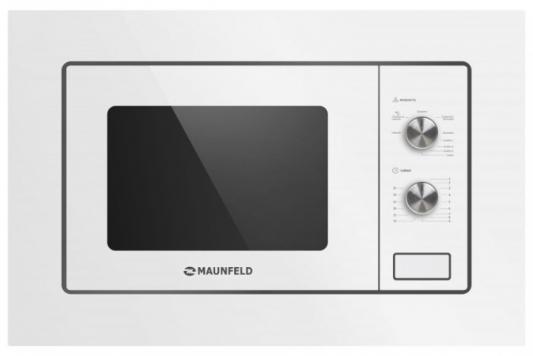 Встраиваемая микроволновая печь Maunfeld MBMO.20.2PGW 800 Вт белый