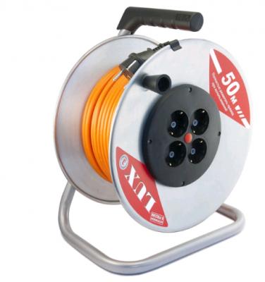 Удлинитель Lux К4-Е-50 50 м 4 розетки набор удлинитель lux 44150 к4 е 50 кг page 1