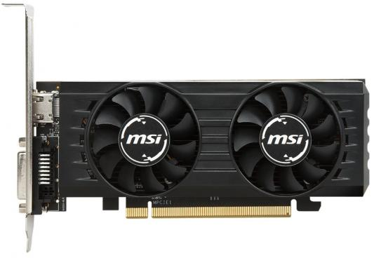 Видеокарта MSI Radeon RX 550 Radeon RX 550 4GT LP OC PCI-E 4096Mb GDDR5 128 Bit Retail (RX 550 4GT LP OC) видеокарта msi rx 550 4gt lp oc rx 550 4гб gddr5 retail