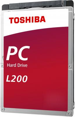 Жесткий диск для ноутбука 2.5 2 Тb 5400rpm 128Mb Toshiba L200 SATA III 6 Gb/s жесткий диск для ноутбука 2 5 500 gb 5400rpm 8mb cache toshiba l200 slim sataiii hdwk105ezsta