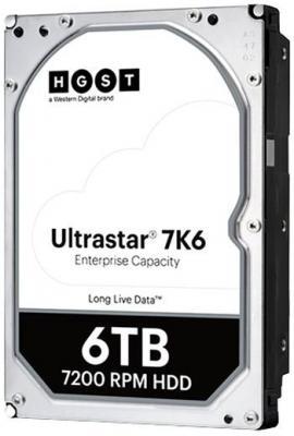 Жесткий диск HGST SATA-III 6Tb 0B36039 HUS726T6TALE6L4 Ultrastar 7K6 (7200rpm) 256Mb 3.5