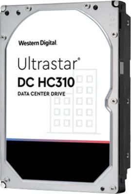 Жесткий диск 3.5 6 Tb 7200rpm 256Mb cache HGST Ultrastar DC HC310 (7K6) SAS жесткий диск 3 5 4tb 7200rpm hgst ultrastar 7k6000 sataiii hus726040ale614 0f23025