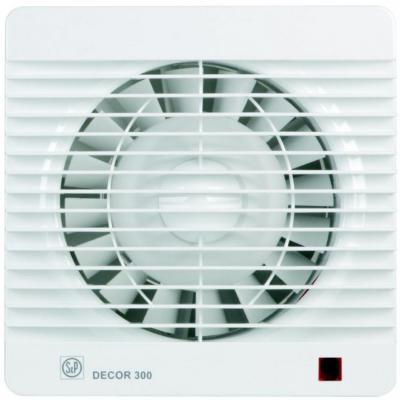 Вентилятор SOLER&PALAU Decor 300S 250 м3/ч. Установочный д 150 мм. 46 dB(A)