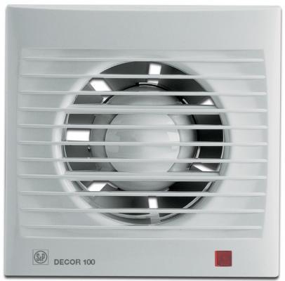 Вентилятор SOLER&PALAU Decor 100CH 95 м3/ч. Установочный д 100 мм. 40 dB(A) pastora soler benidorm