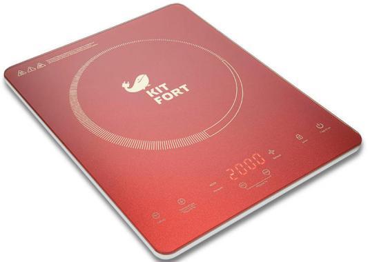 Плитка электрическая KITFORT КТ-110-4 Ultra Slim индукционная 2000Вт 370х290x38мм parkcity ultra slim new 420 110