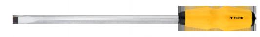 Отвертка ударная TOPEX 39D255 шлицевая 8.0x250мм лезвие к рубанку сменное topex 11a411 250 мм