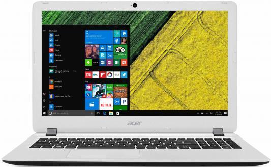 Ноутбук ACER Aspire ES1-523-888X 7410 2200 МГц 15.6 1366x768 4Гб 500Гб AMD Radeon R3 Series встроенная Windows 10 Home черный / белый NX.GKZER.003 nokotion original laptop motherboard for acer aspire es1 511 nbmml11002 z5w1m la b511p n2830 cpu ddr3 works