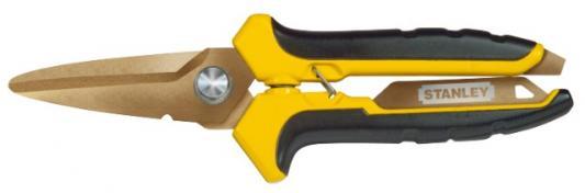 Ножницы по металлу STANLEY STHT 0-14-103 лезвия с титановым покрытием