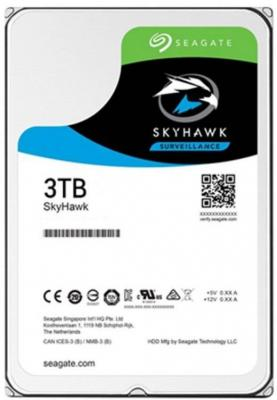 "Жесткий диск 3.5"" 3 Tb 5400rpm 256Mb cache Seagate Skyhawk ST3000VX009 SATA III 6 Gb/s"