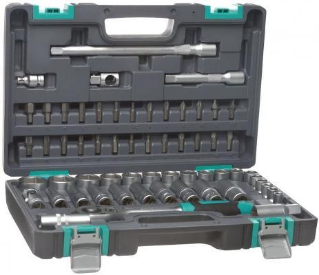 Набор инструментов STELS 14103 1/2 CrV пластиковый кейс 60 предм. ящик для инструментов stels 90713