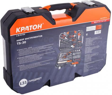 Набор инструментов КРАТОН TS-30 multi 131, 1/4+1/2 тонконосы кратон 2 12 10 005
