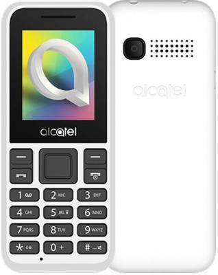 Мобильный телефон Alcatel 1066D белый телефон alcatel temporis mini champagne flash recall wall mt