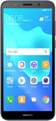Смартфон Huawei Y5 Prime 2018 16 Гб синий (51092MCP) смартфон huawei y5 2018 prime синий 5 16 гб lte wi fi gps 3g dra lx2