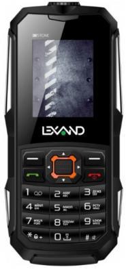 Мобильный телефон LEXAND R2 Stone черный сотовый телефон lexand a1 basic black