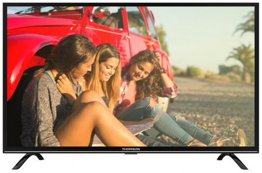 Телевизор Thomson T55FSE1170 черный телевизор thomson t24rte1080