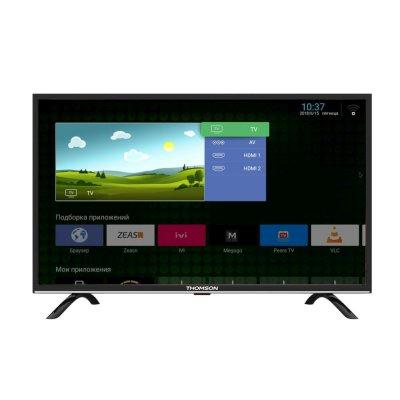"Плазменный телевизор 43"" Thomson T43FSL5130 черный 1920x1080 50 Гц Wi-Fi Smart TV WiDi цена"