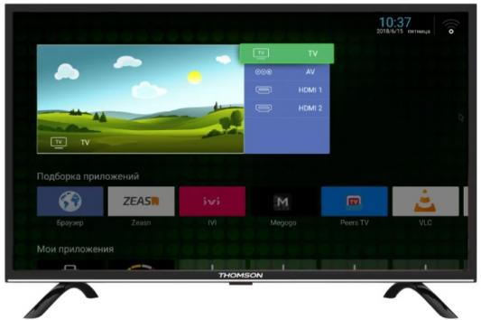 Телевизор Thomson T32RTL5130 черный телевизор thomson t19e20dh черный