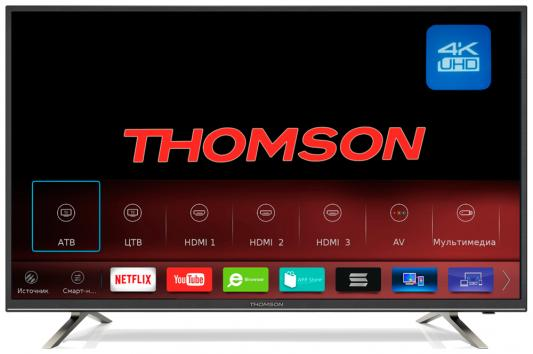 Телевизор LCD 65 4K T65USM5200 THOMSON телевизор loewe 56407w87 bild 1 65
