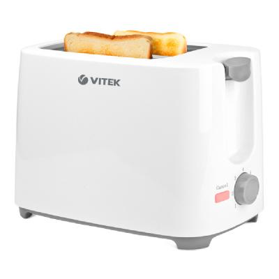 1587(W) Тостер VITEK 700Вт,7 позиций для регулировки