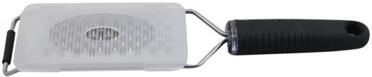 22-Cook Терка с ручкой Endever, нерж сталь,крышка в комплекте, для мелкой стружки терка четырехгранная endever cook 19