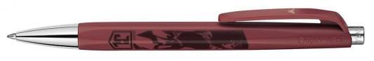 Ручка шариковая Carandache Office INFINITE WONDER WOMAN (888.703) бордовый подар.кор. шариковая ручка carandache varius rubracer sp латунь каучук посеребрение с родиенвым напылением 4480 085