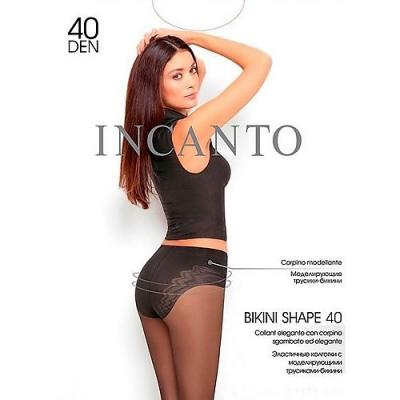 Incanto Колготки Bikini Shape 40 Daino, 4 halter crisscross cropped bikini set