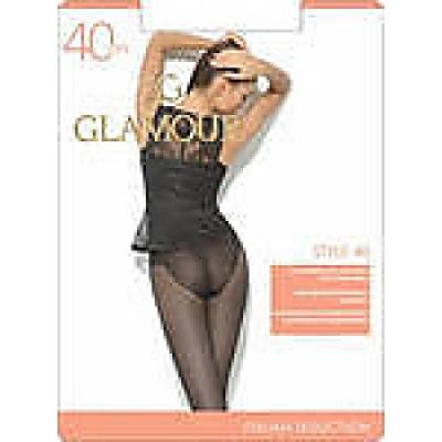 Glamour Колготки Style 40 Nero, 4 колготки glamour glamour gl302fwgjs11