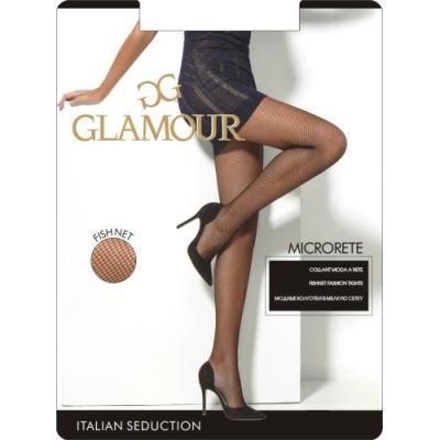 Glamour Колготки Microrete Miele, 2 glamour tees