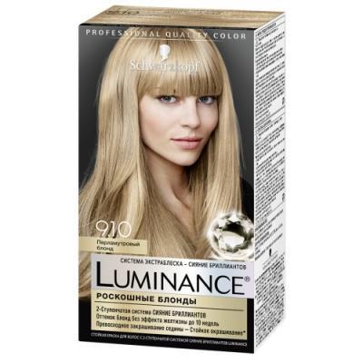 Luminance Color Краска для волос 9.10 Перламутровый блонд 165 мл