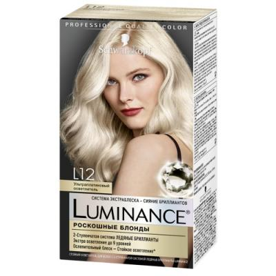 Luminance Color Краска для волос L12 Ультра платиновый осветлитель 145 мл 20 г free shipping n140bge l12 n140bge l22 n140bge l21 n140bge l11 bt140gw01 lp140wh1 tla1 ltn140at02 new led display laptop screen