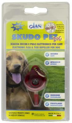 Фото - Ультразвуковой отпугиватель Moser ScudoPet OKAP01BR-B01 от комаров, клещей для собак ультразвуковой отпугиватель от собак keko