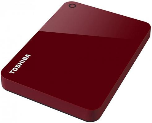 Внешний жесткий диск USB3 1TB EXT. 2.5 RED HDTC910ER3AA TOSHIBA цена