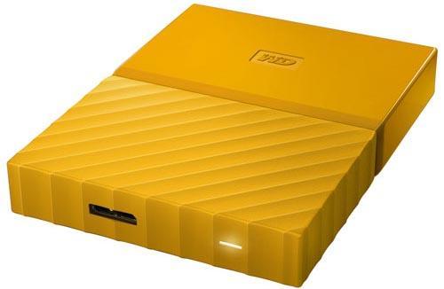 """Купить со скидкой Внешний жесткий диск USB3 2TB EXT. 2.5"""" YELLOW WDBLHR0020BYL-EEUE WDC"""