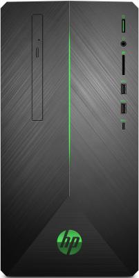 Компьютер HP Pavilion Gaming 690-0011ur AMD Ryzen 2600 16 Гб 1Tb + 128 SSD nVidia GeForce GTX 1060 6144 Мб Windows 10 Home 4JU45EA цена