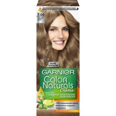 GARNIER Краска для волос Color Naturals 7.00 Глубокий русый garnier краска для волос color naturals 7 капучино