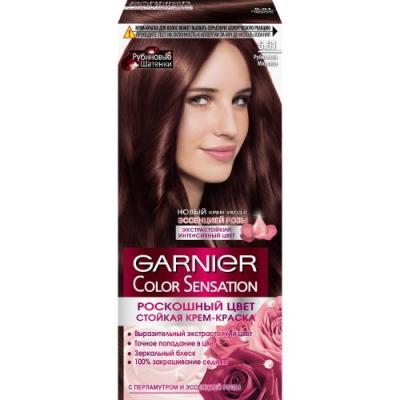 GARNIER Краска для волос Color Sensation 5.51 Рубиновый шатен garnier краска для волос color sensation 7 40 янтарный ярко рыжий