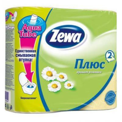 Бумага туалетная Zewa Плюс 2-ух слойная ароматизированная 4 шт 144065