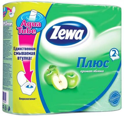 Бумага туалетная Zewa Плюс 2-ух слойная ароматизированная 4 шт 144004